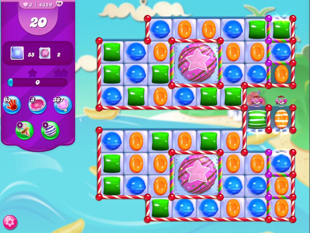 Candy Crush Saga level 4359