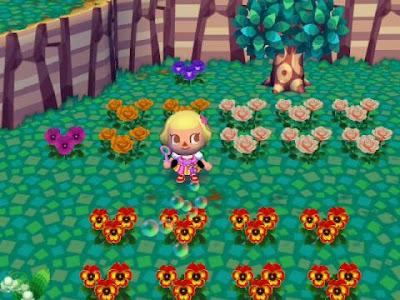 Animal Crossing Let's go to the city.!: Blumen züchten