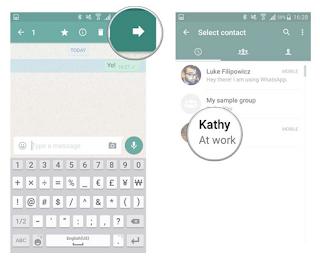 Cara kirim pesan whatsapp di Android