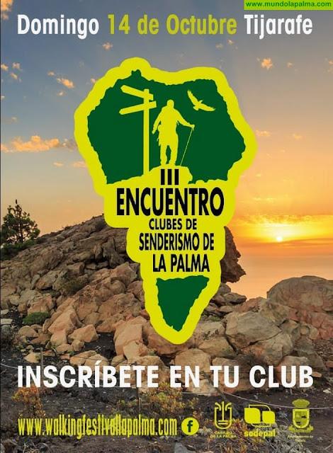 Tijarafe albergará el III Encuentro Insular de Clubes de Senderismo