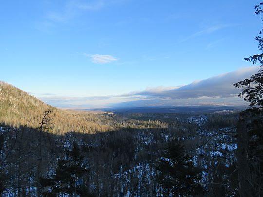 Widok na Góry Lewockie.