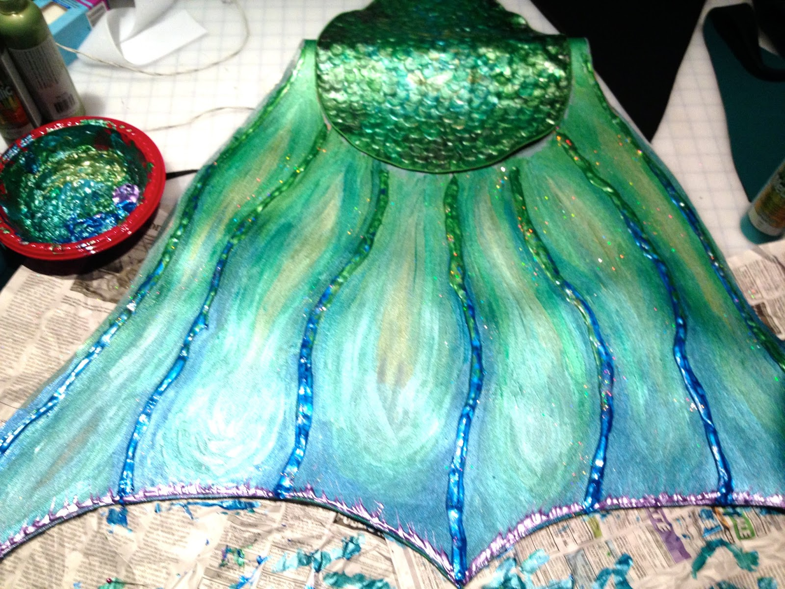 Fire Pixie Happenings Swimming Mermaid Tail Tutorial - How I made my new Neoprene tail & Fire Pixie Happenings: Swimming Mermaid Tail Tutorial - How I made ...