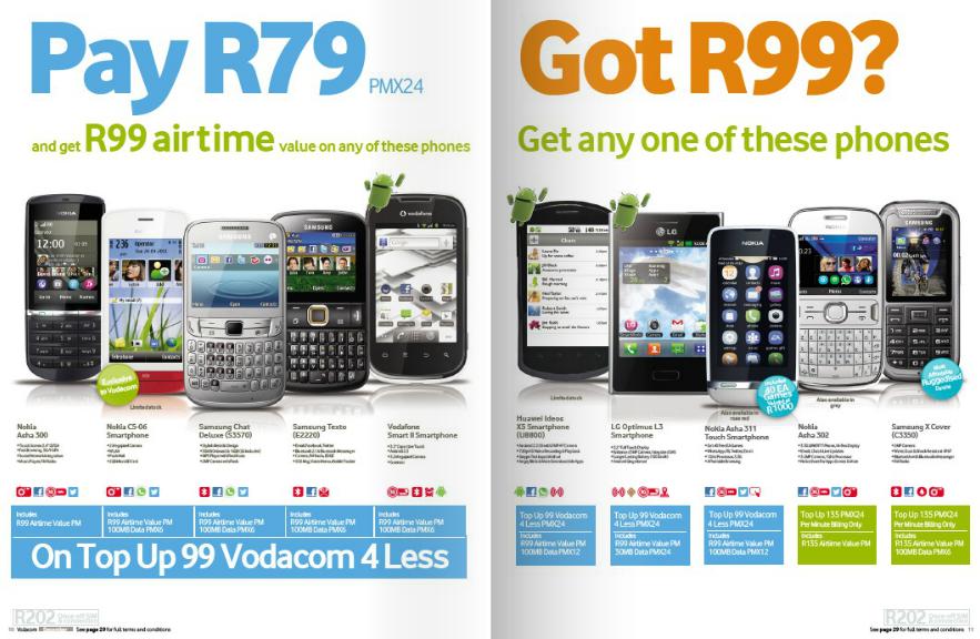 cellular deals vodacom