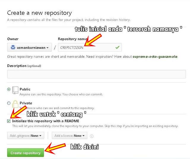 Cara Upload File Javascript dan CSS Ke Github