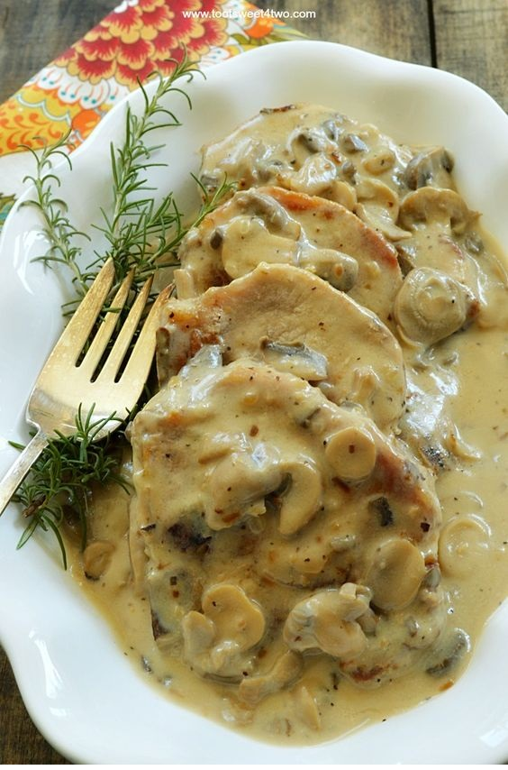 Easy Cream Of Mushroom Pork Chops