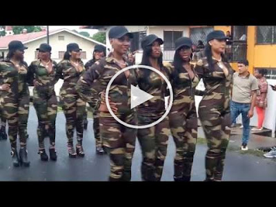VIDEO: S3xy Female Military - The best Military parade of all time [DOWNLOAD]