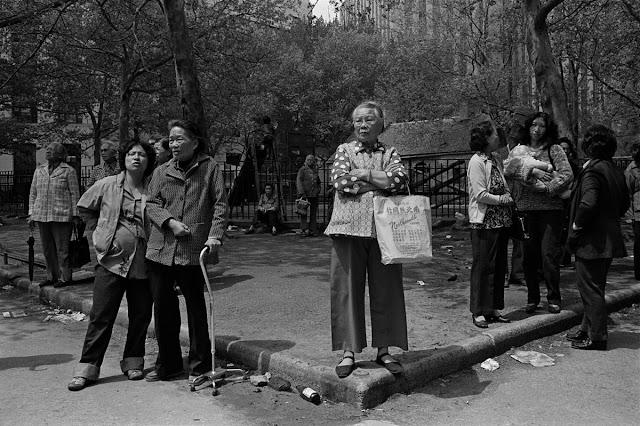 Fotografías de Chinatown en los 80