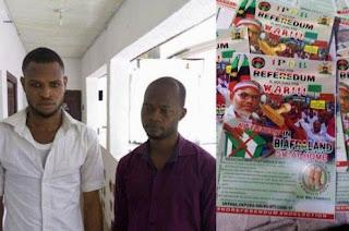 Biafra: Police arrest publishers printing handbills for IPOB