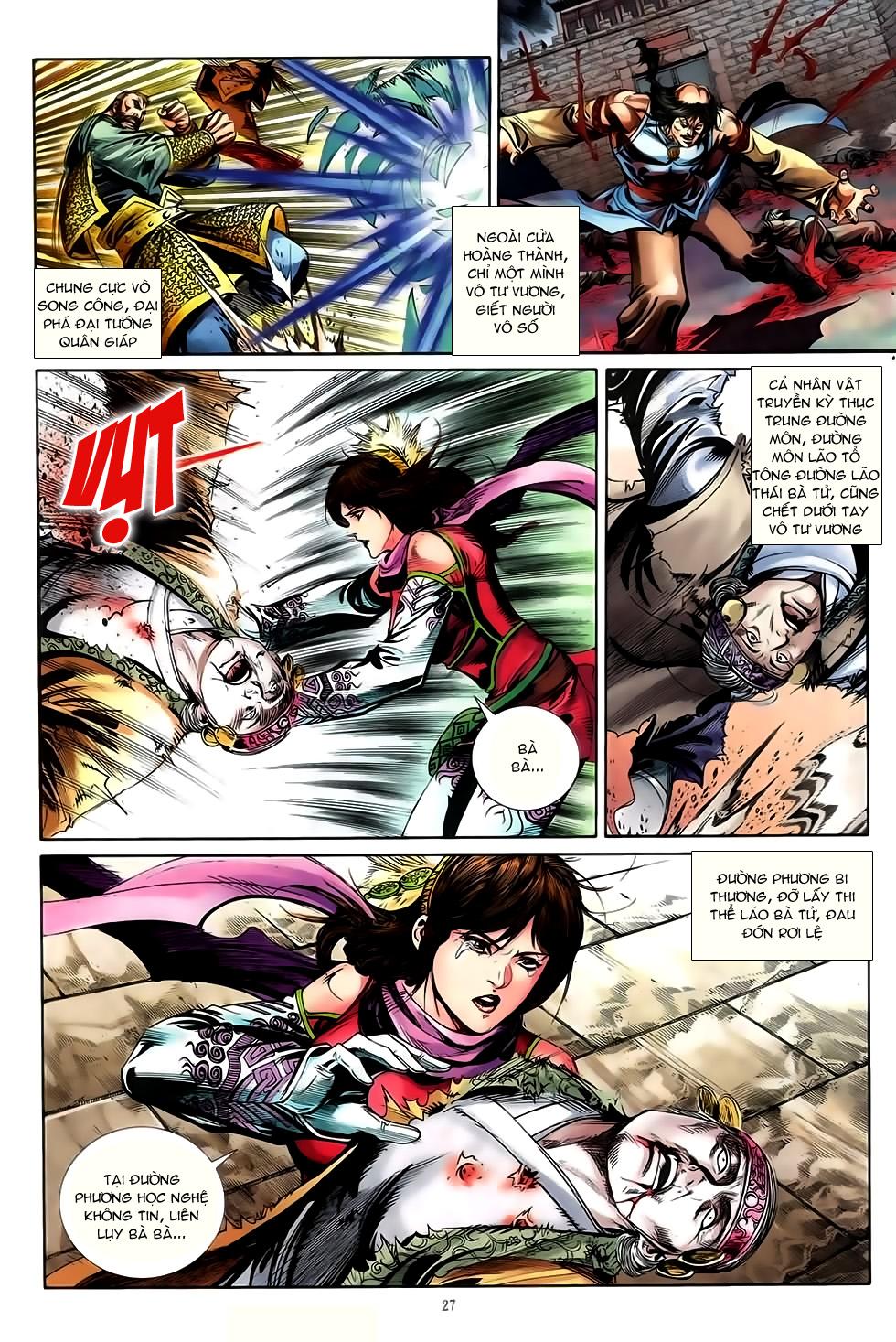 Đại Hiệp Truyền Kỳ (Thần Châu Hậu Truyện) chap 50 - Trang 24