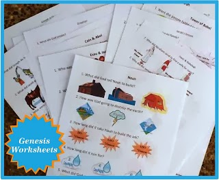 http://kidsbibledebjackson.blogspot.com/2013/05/genesis-worksheets.html