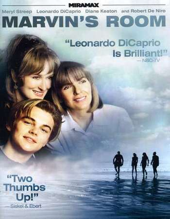Poster Of Marvin's Room 1996 English 300MB BRRip 480p Free Download Watch Online Worldfree4u