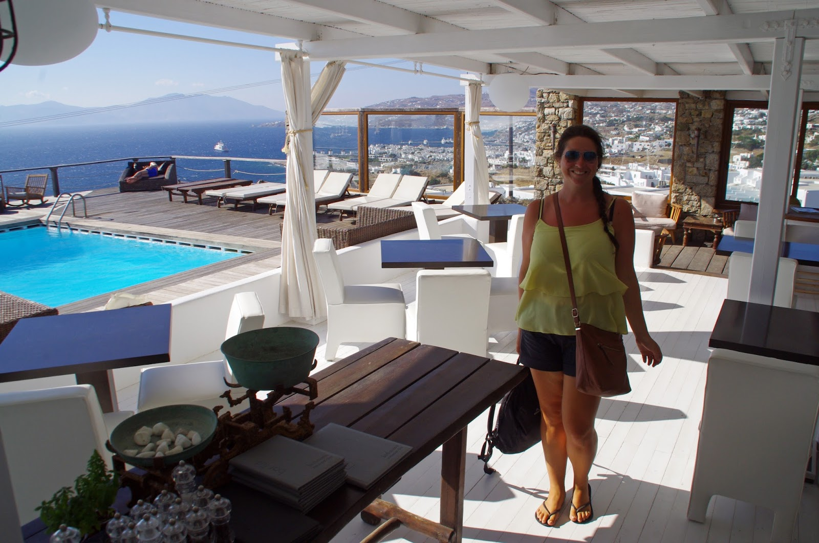 Tharroe of Mykonos Outdoor Restaurant and Terrace Bar