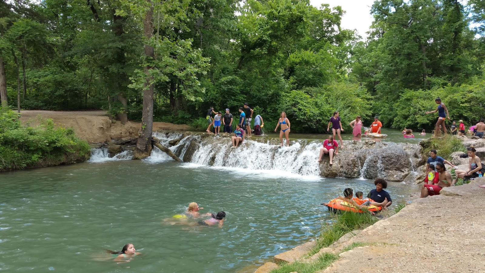 Swimming At Chickasaw Nature Center