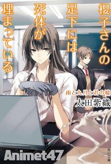 Sakurako-san no Ashimoto ni wa Shitai ga Umatteiru - Anime Sakurako-san no Ashimoto ni wa Shitai ga Umatteiru 2015 Poster
