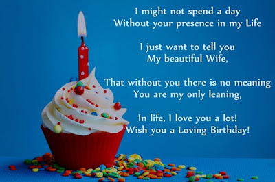 Romantic Happy Birthday Poems for Wife (Darling)