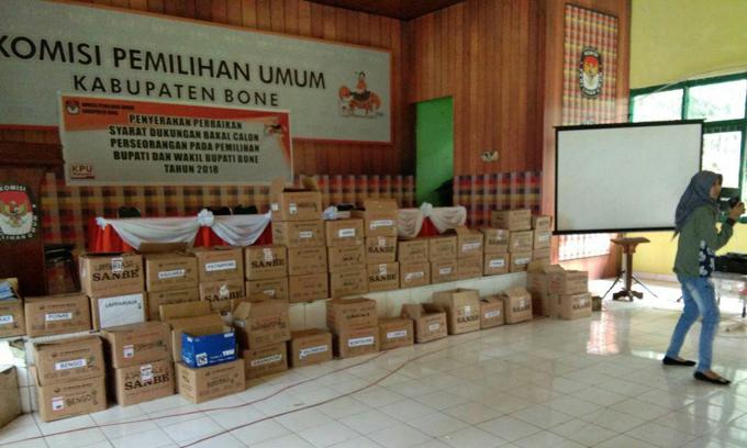 Lengkapi Berkas, Segini Jumlah Dukungan KTP Tambahan Disetor Umar-Madeng