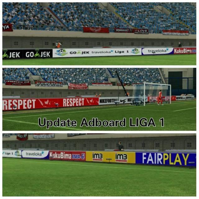 PES 2017 Add On Liga 1 Indonesia Update 1.03.01