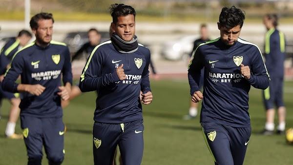 El Málaga vuelve mañana a entrenar de tarde