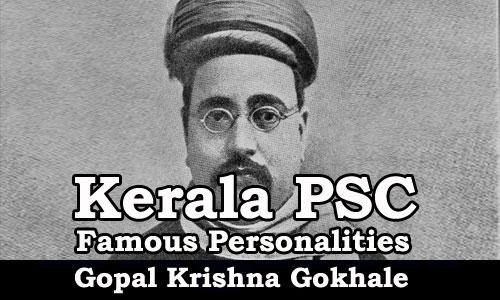 Famous Personalities - Gopal Krishna Gokhale (1866-1915)