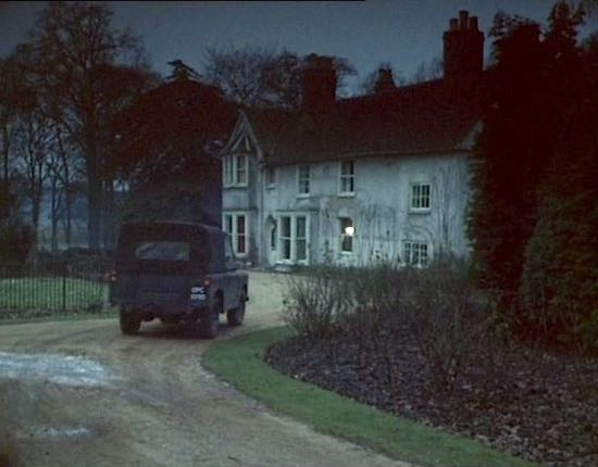 B&BScene from The Avengers at the old vicarage, North Mymms 1967  Screen grab of film by Paul & Hilary Marston reproduced with permission