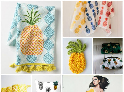 Get Your Inspiration: Fruit Obsession #1 Ananas/Pineapple
