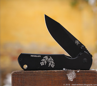 Sanrenmu 7010LUI-SH1 in black with flower logo
