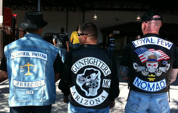 3 Piece Patch Motorcycle Clubs