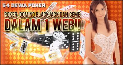 54DewaPoker Agen Judi Kartu Taruhan Poker Online Terpercaya