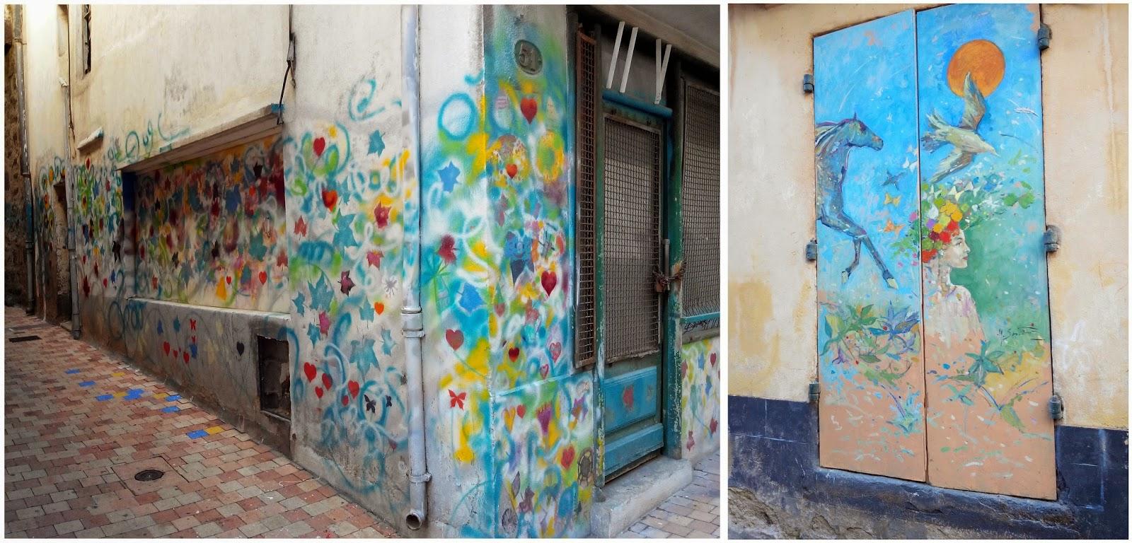 mur, street art, dessin, peinture, Agde, bullelodie