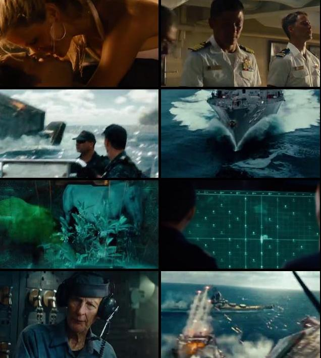 Battleship 2012 Dual Audio Hindi 480p BRRip