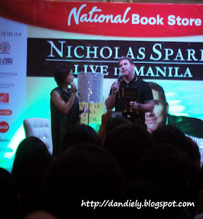 Nicholas Sparks Live in Manila (Philippines) Book Tour Oct 28, 2011
