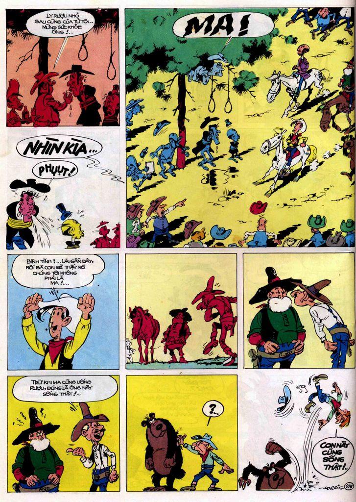 Lucky Luke tập 21 - sợi dây biết hát trang 37