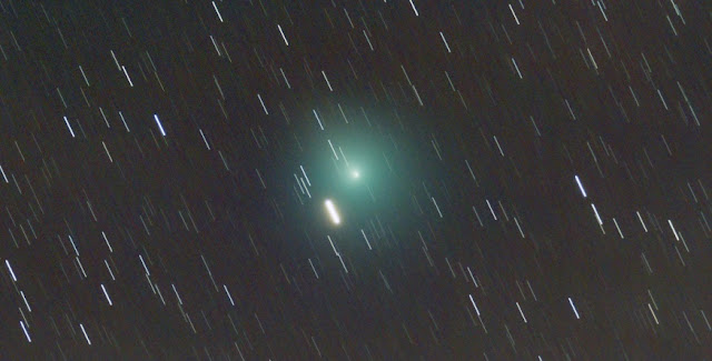 An image of Comet 46P/Wirtanen taken by Wouter Van Reeven at ESA's European Space Astronomy Centre (ESAC) near Madrid, Spain, on December 6, 2018. Credit: ESA / ESAC Astronomy Club / W. Van Reeven