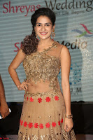 Jenny in brown transparent sleeveless anarkali dress at Shamanthakamani pre release function ~  Exclusive 023.JPG