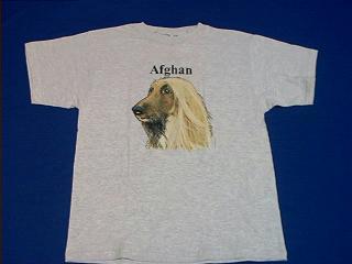 Afghan Hound T Shirt