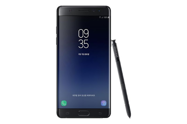 All the Galaxy Note 7 parts will reuse on Galaxy Note Fan Edition except it's using a smaller 3,200mAh battery with the promise of enhanced safety designs, to prevent device from overheating and or catching fire.