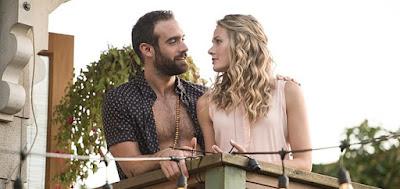 Joshua Sasse e Tori Anderson foram as versões gringas de Danton Mello e Alinne Moraes
