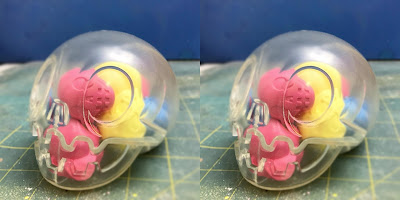 Designer Con 2018 Exclusive Bubblegum Clear Calaverita Vinyl Figure by The Beast Brothers