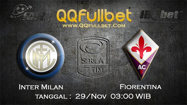 PREDIKSIBOLA - Prediksi Taruhan Bola Inter Milan VS Fiorentina 29 November 2016 (SERIE A Italia)