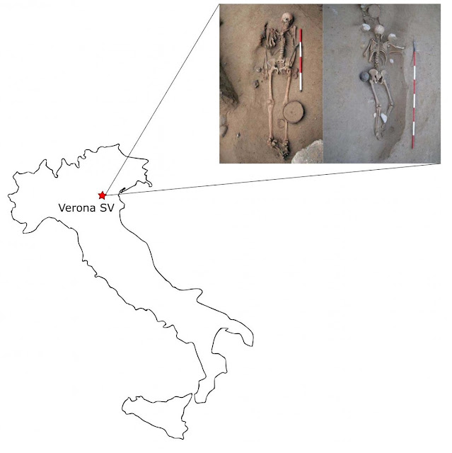 Funerary customs, diet, and social behaviour in a pre-Roman Italian Celtic community