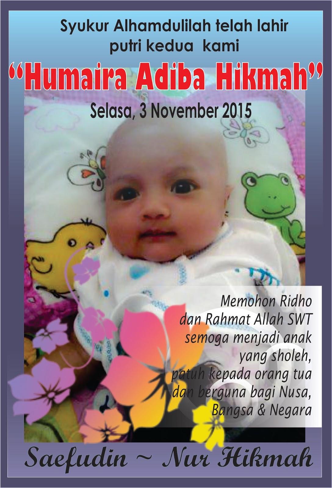 Contoh Disain Kartu Nama Untuk Syukuran Bayi Asal Posting Dot Com