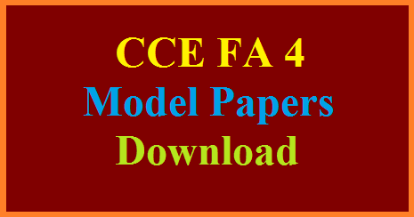 cce-fa-formative-assessment-test-4-model-question-papers-download
