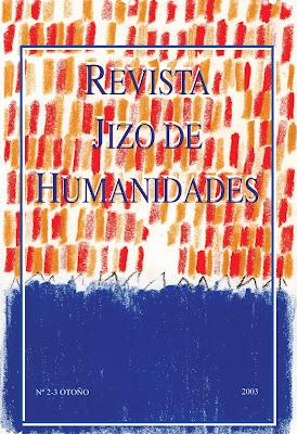 Poesía en el número dos de Jizo Ediciones, Ancile