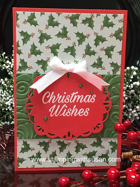 Stampin' Up!, Christmas Wishes, Stampin' Up! Santa's Workshop, www.stampingwithsusan.com