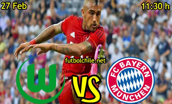 VER STREAM EN VIVO, ONLINE: Wolfsburg vs Bayern Munich