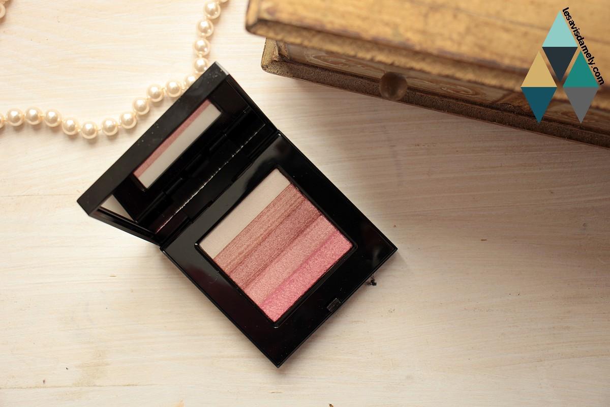 revue test poudre compacte rose nacré joues teint bobbi brown