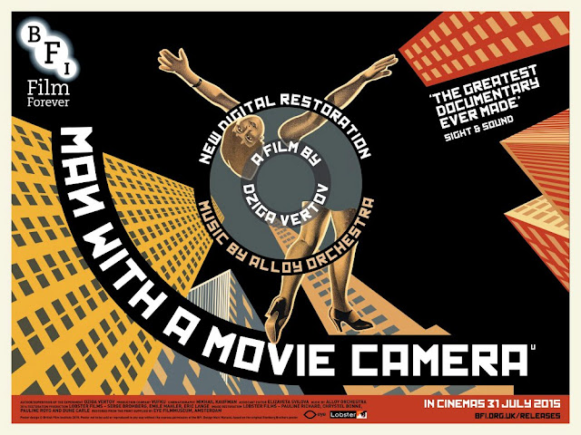 Man With A Movie Camera, BFI, Dziga Vertov