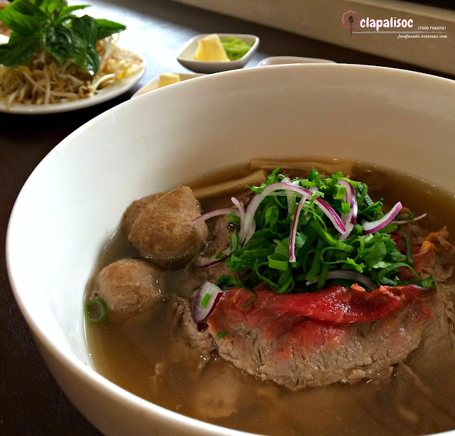 Combination Beef Noddles Soup from Tra Vinh