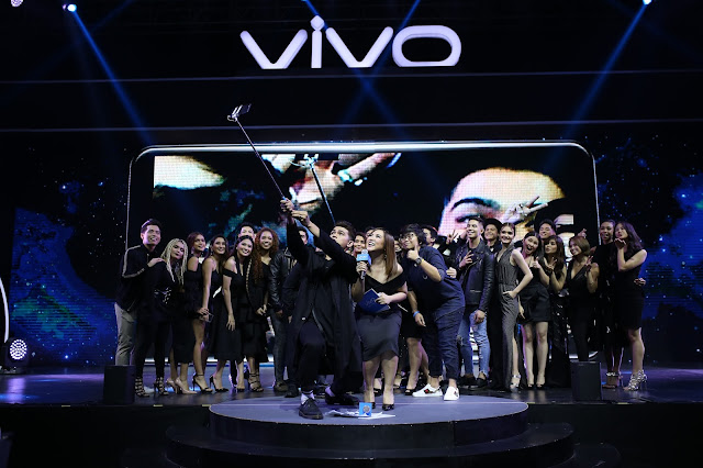 Vivo family at V7 launch
