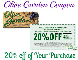 Olive Garden Printable Coupons July 2017 Kohls Coupons 2017